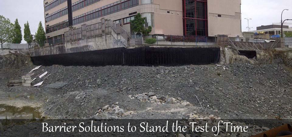 Barrier Solutions to Stand the Test of Time | Foundation rocks